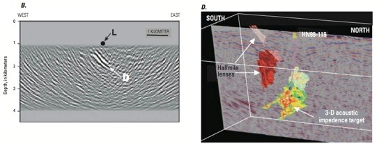 Mapping the sub-surface of eSMS deposits