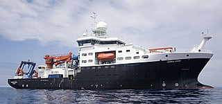 research ship RRS james cook